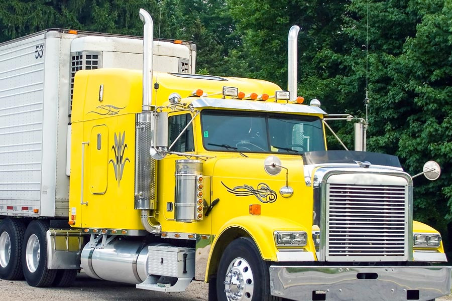 Truck And Trailer Lights : Peterbilt style led truck and trailer lights w chrome