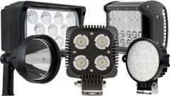LED Auxiliary Work Lights