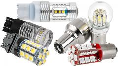 Tail, Brake & Turn LED Bulbs