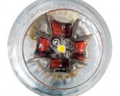 1 LED Wedge Base Bulb: Front View