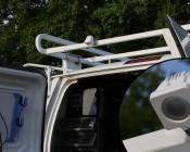LED lighting for exterior work van