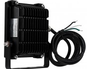 0 Watt High Power LED Flood Light Fixture: Back View