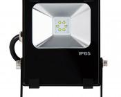 10 Watt High Power LED Flood Light Fixture: Front View