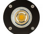 10 Watt Landscape LED Spotlight w/ Mounting Spike: Front View
