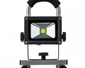 10W Portable Rechargeable LED Work Light - Dimmable: Front View