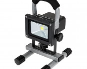 10W Portable Rechargeable LED Work Light - Dimmable