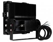 100 Watt High Power LED Flood Light Fixture: Back View