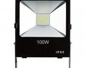 100 Watt High Power LED Flood Light Fixture in Natural White: Front View