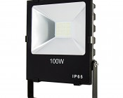 100 Watt High Power LED Flood Light Fixture in Natural White