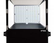 100 Watt High Power LED Flood Light Fixture: Front View