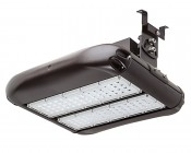 100W LED Area Light - Natural White - 12,500 Lumens: Light With Bracket Hpal-Sm Attached