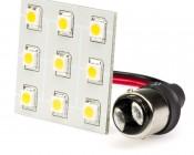 White 9HP-LED 1142 PCB Lamp