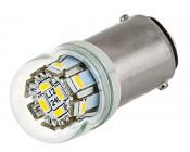1142 LED Bulb w/ Stock Cover - 12 SMD LED - BA15D Retrofit