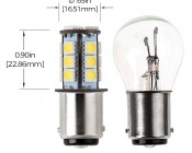 1142 LED Bulb - 18 SMD LED Tower - BA15D Retrofit