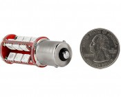 1156 CAN Bus LED Bulb - 30 SMD LED Tower - BA15S Retrofit: Back View