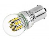 1156 LED Bulb w/ Stock Cover - 36 SMD LED Tower - BA15S Retrofit