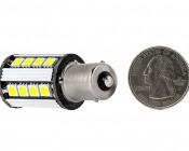 1156 CAN Bus LED Bulb - 26 SMD LED Tower - BA15S Retrofit: Back View