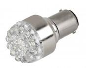 1142 LED Bulb - 19 LED Forward Firing Cluster - BA15D Retrofit