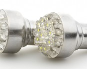 12-LED BA15S bulb: Narrow and Wide Angle <br> 18°, 100°