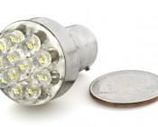 12-LED BA15S bulb