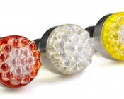 1156 LED Bulb - 19 LED Forward Firing Cluster - BA15S Retrofit: 19-LED BA15S bulb