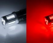 1156 CAN Bus LED Bulb - 30 SMD LED Tower - BA15S Retrofit: All Colors Illuminated