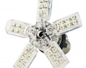 1156 LED Boat and RV Light Bulb - 30 SMD LED Spider - BA15S Retrofit