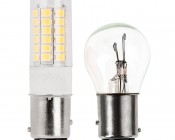 1157 LED Bulb - Dual Function 51 SMD LED Tower - BAY15D Retrofit