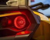 1157 LED Bulb - Dual Intensity 45 SMD LED Tower: Installed On ATV Brake Light