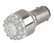 1157 LED Bulb - Dual Function 19 LED Forward Firing Cluster - BAY15D Retrofit