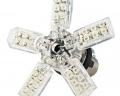 1157 LED Boat and RV Light Bulb - Dual Function 30 SMD LED Spider - BAY15D Retrofit