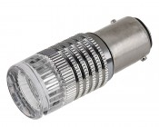 1157 LED Bulb w/ Brake Flasher - Dual Function 1 High Power LED - BAY15D Retrofit