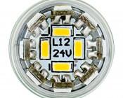 1142 LED Bulb - Single Intensity 1 Watt LED w/ Stock Cover: Front View