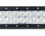 "12"" Heavy Duty Off Road LED Light - 72W: Detail Of LEDs"