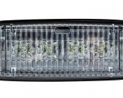 12W Heavy Duty High Powered Tractor LED Work Light - RE306510 Sealed Beam Replacement: Front View