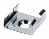 Klus 1399 - 45-ALU series LED Profile Mounting Clip, Corner Mount