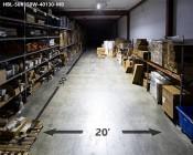 150W Linear LED Light Fixture - Industrial LED Light w/ Mounting Brackets - 4' Long - 16,000 Lumens: Beam Length & Width
