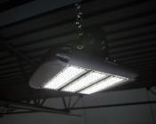 LED Area Light - 160W (600W HID Equivalent) - 5000K/3000K - 20,000 Lumens: Illuminated