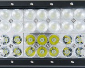 """17"""" Heavy Duty Off Road LED Light with Multi Beam Technology - 216W: Detail of LEDs"""