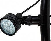 18W Color Changing RGB LED Landscape Spotlight w/ Remote: Tube Mounting