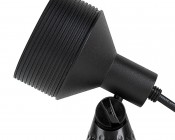 18W Color Changing RGB LED Landscape Spotlight (Remote Sold Separately): Profile View