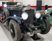 1156 LED Bulb - 51 SMD LED Tower - BA15S Retrofit with Lens: Installed in 1931 Bentley