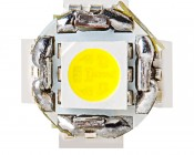 194 LED Bulb - 13 SMD LED Wedge Base Tower: Front View