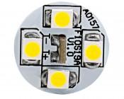 921 LED Bulb - 19 SMD LED Wedge Base Tower-Front