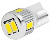 194 LED Bulb - 6 SMD LED Tower - Miniature Wedge Retrofit