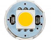 194 LED Bulb w/ Socket - 5 SMD LED - Miniature Wedge Retrofit: Front View