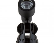 1W LED Landscape Spotlight - White: Front View