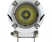 "2"" Round 10 Watt LED Mini Auxiliary Work Light: Front View"