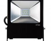 20 Watt High Power LED Flood Light Fixture: Front View