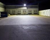 200 Watt LED Explosion Proof Light for Class 1 Division 2 Hazardous Locations - 16,200 Lumens: Showing Light Ouput